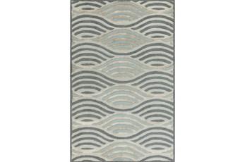 60X93 Rug-Vortex Slate/Grey
