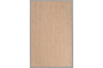 60X96 Rug-Bessel Seagrass Grey