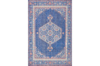 42X66 Rug-Nancy Cobalt/Poppy