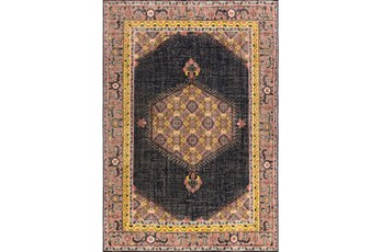 42X66 Rug-Nancy Charcoal/Carnation