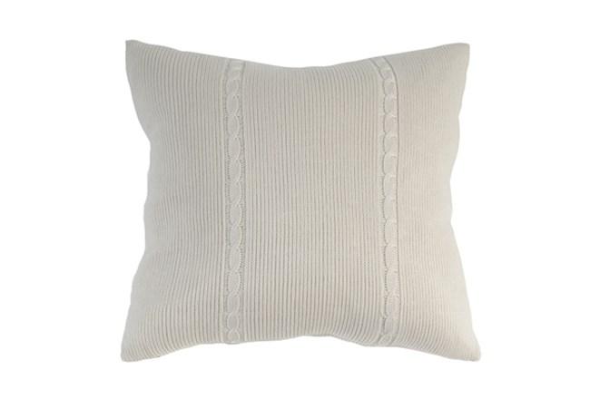 Accent Pillow-Gerard Knit 22X22 - 360