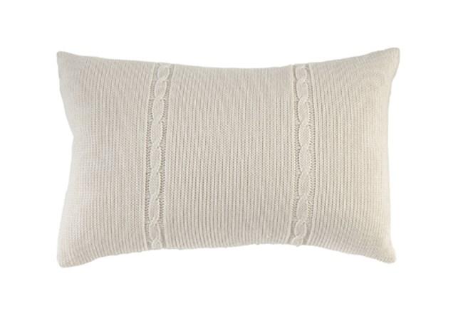 Accent Pillow-Gerard Knit 14X22 - 360