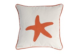 Accent Pillow-Coral Starfish 18X18