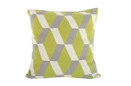 Accent Pillow-Tucker Green Knit 20X20