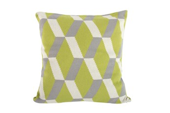 Accent Pillow-Tucker Green Knit 20X20
