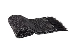 Accent Throw-Trish Heathered Black