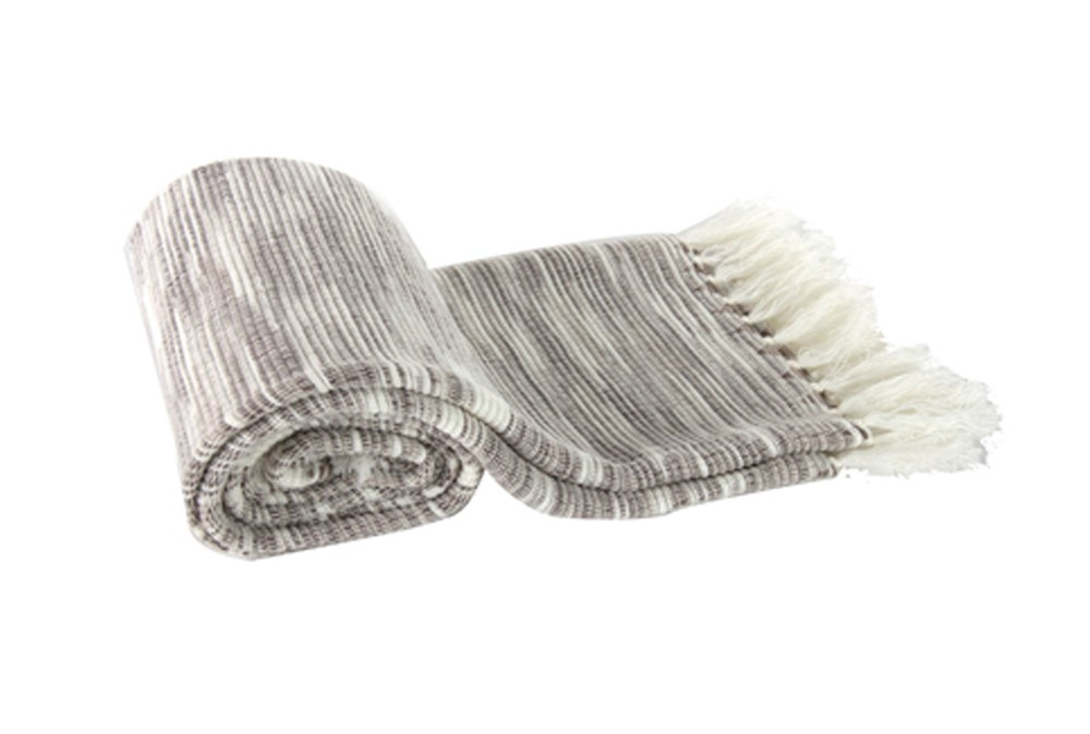 Accent Throw-Trish Heathered Grey