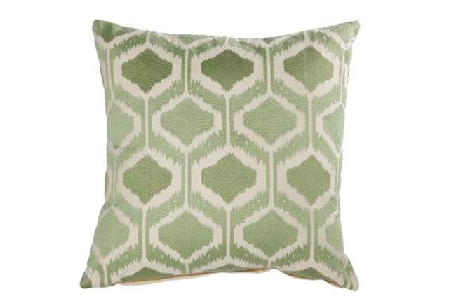 Accent Pillow-Eliza Green 18X18 - 360