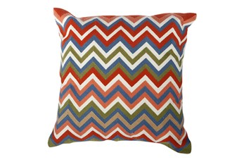 Accent Pillow-Tamara Chevron 18X18