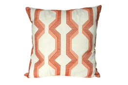 Accent Pillow-Manu Lynx Coral 18X18