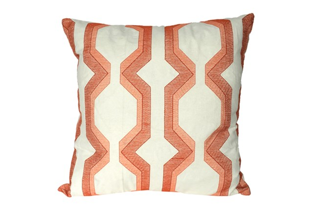 Accent Pillow-Manu Lynx Coral 18X18 - 360