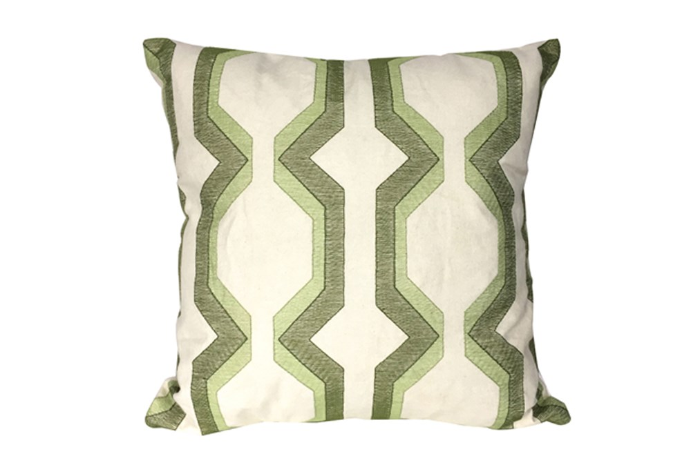 Accent Pillow-Manu Lynx Green 18X18