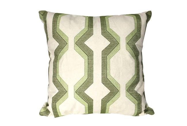 Accent Pillow-Manu Lynx Green 18X18 - 360