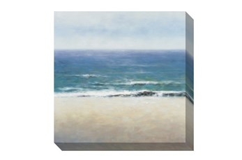 Picture-Calm Sea To Horizon 38X38