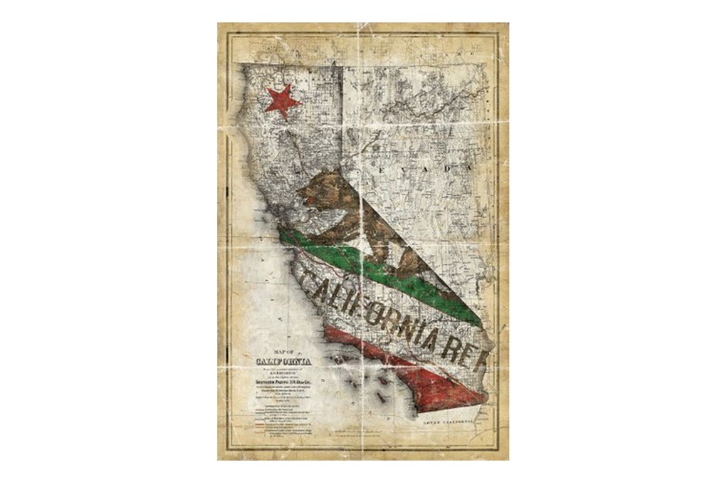 Picture-California State Flag 24X36