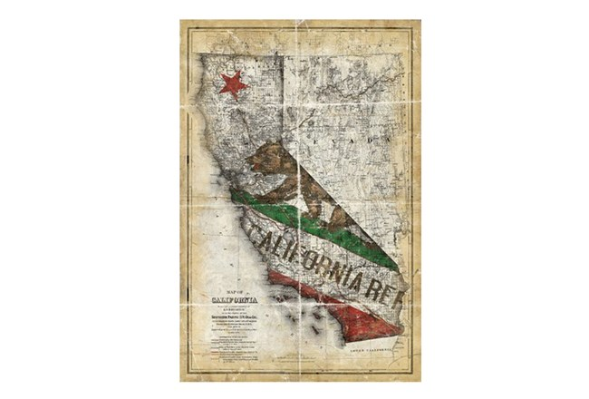 Picture-California State Flag 24X36 - 360