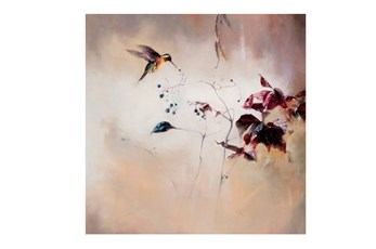 Picture-Hummingbird Flight 38X38
