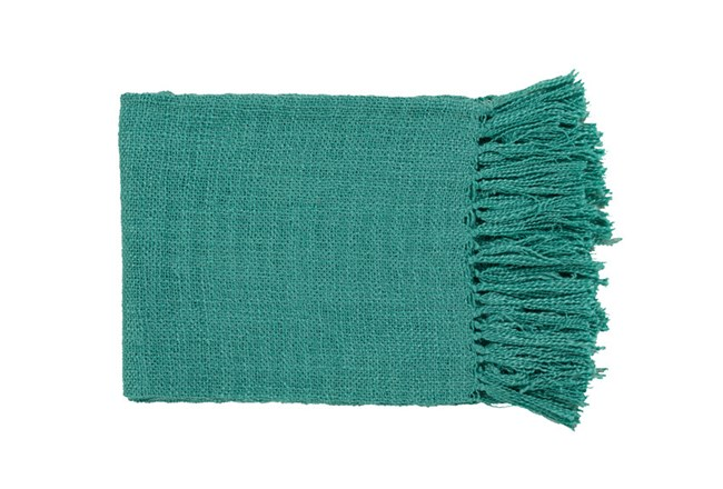 Accent Throw-Delco Teal - 360