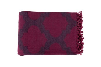 Accent Throw-Carlisle Fuschia