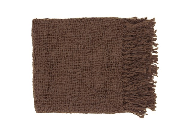 Accent Throw-Jace Chocolate - 360