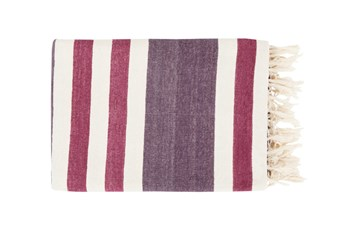 Accent Throw-Dermot Plum