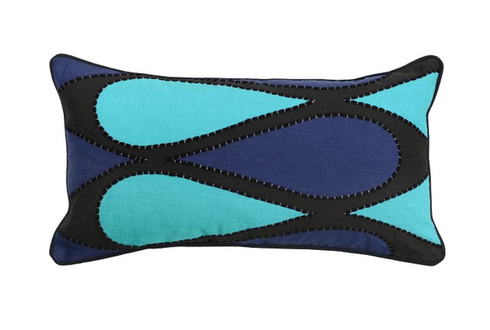 Accent Pillow-Raleigh Sky Blue 14X26