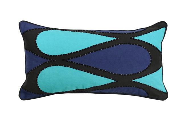 Accent Pillow-Raleigh Sky Blue 14X26 - 360