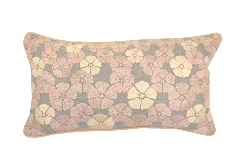 Accent Pillow-Gable Blush 14X26