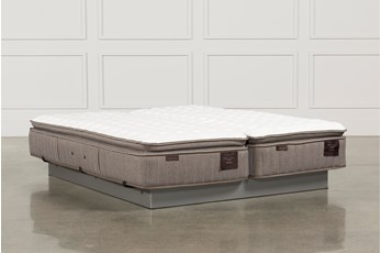 Scarborough Firm Euro Pillow Top Eastern King Mattress Set