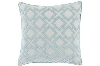 Accent Pillow-Avalon Geo Light Grey 20X20
