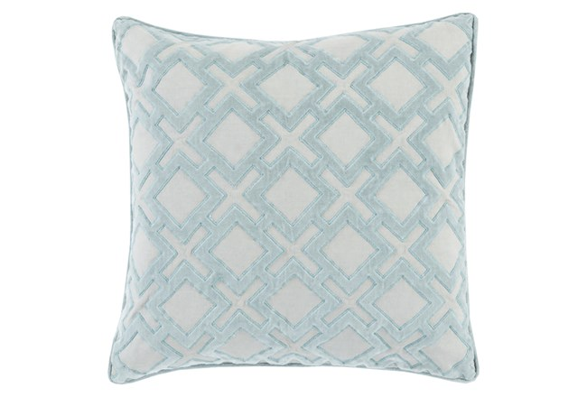 Accent Pillow-Avalon Geo Light Grey 22X22 - 360