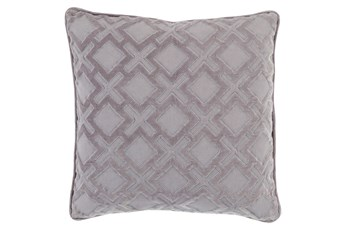 Accent Pillow-Avalon Geo Grey/Charcoal 20X20