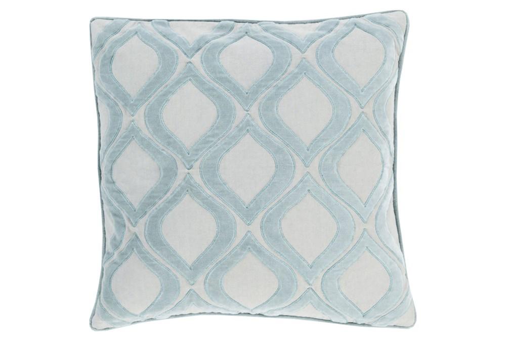 Accent Pillow-Abbott Geo Blue 22X22