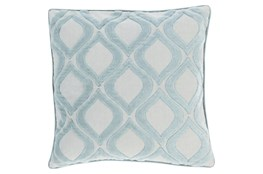Accent Pillow-Abbott Geo Blue 22X22