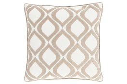 Accent Pillow-Abbott Geo Ivory 20X20