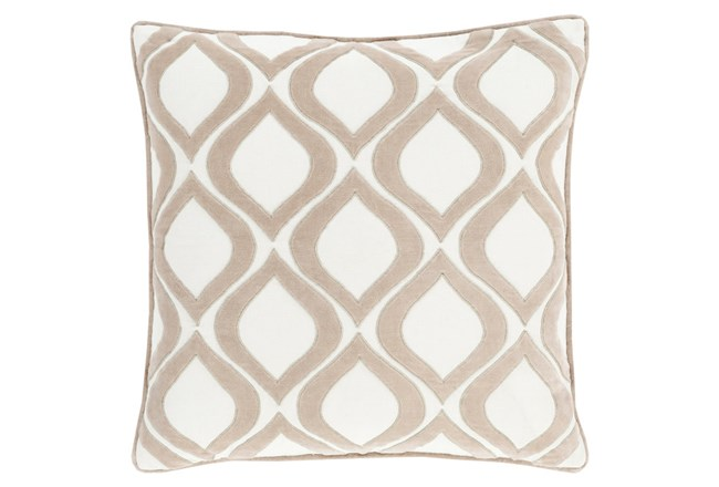 Accent Pillow-Abbott Geo Ivory 22X22 - 360