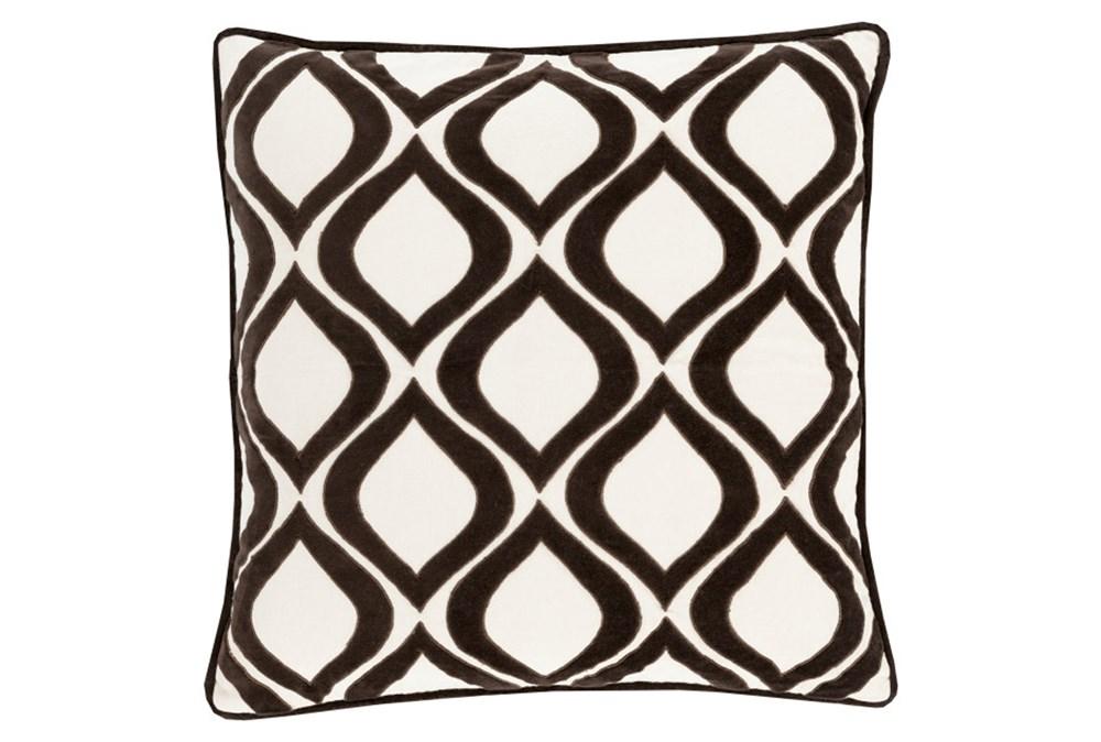 Accent Pillow-Abbott Geo Ivory/Black 22X22