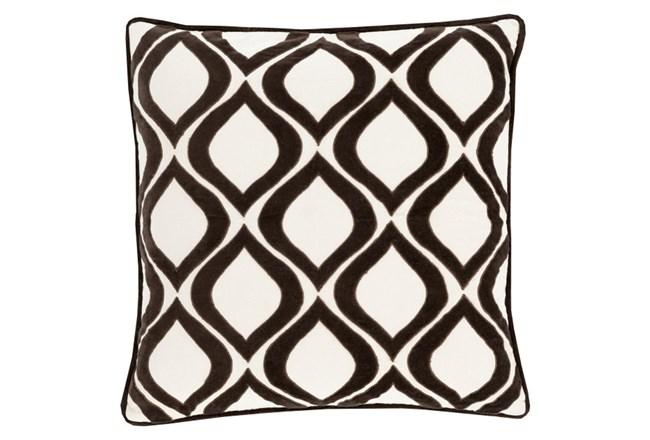 Accent Pillow-Abbott Geo Ivory/Black 22X22 - 360