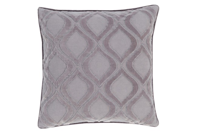 Accent Pillow-Abbott Geo Charcoal Grey 22X22 - 360