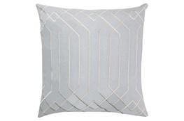 Accent Pillow-Noel Geo Light Grey/Beige 20X20