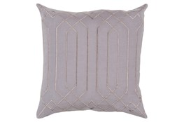 Accent Pillow-Noel Geo Charcoal/Light Grey 20X20