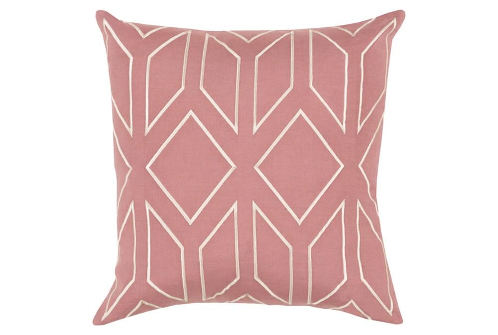 Accent Pillow-Nora Geo Rose/Beige 18X18