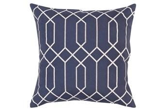 Accent Pillow-Nicee Geo Slate/Light Grey 20X20