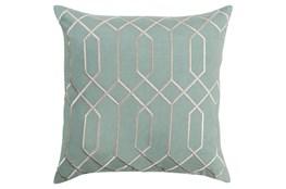 Accent Pillow-Nicee Geo Moss/Light Grey 18X18