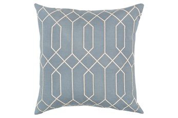 Accent Pillow-Nicee Geo Moss/Beige 20X20