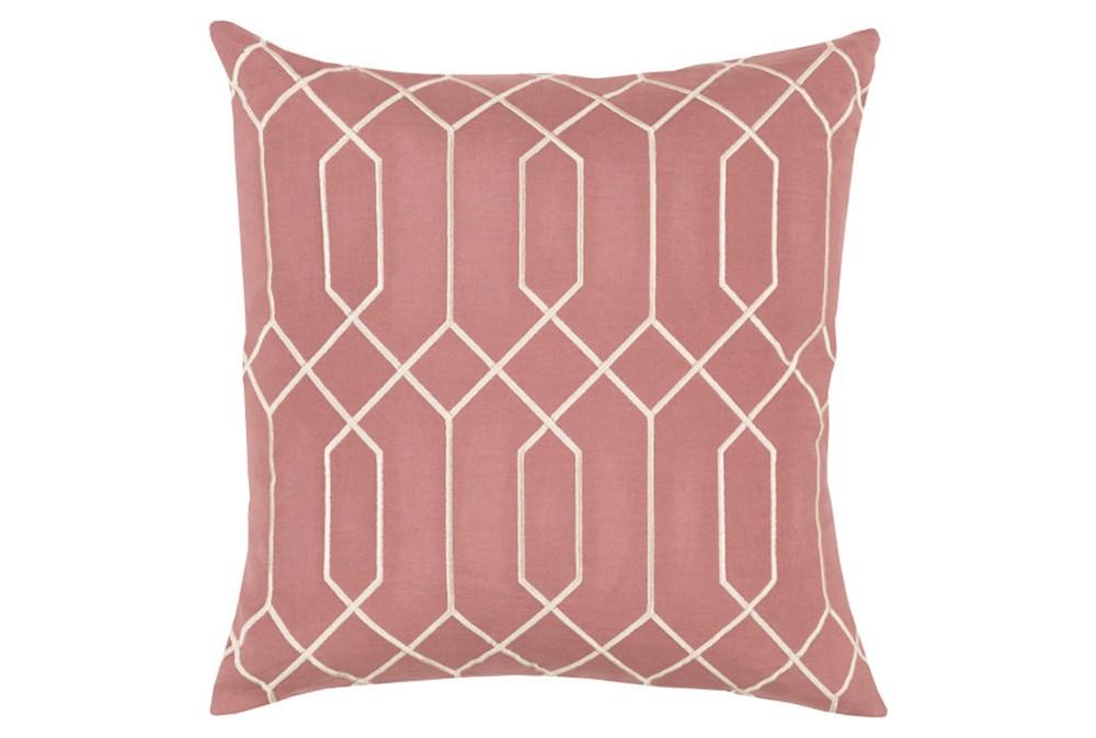 Accent Pillow-Nicee Geo Rose Beige 20X20
