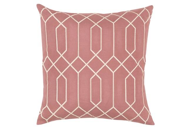 Accent Pillow-Nicee Geo Rose Beige 20X20 - 360