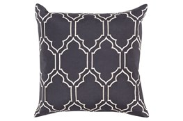 Accent Pillow-Norinne Geo Slate/Light Grey 20X20
