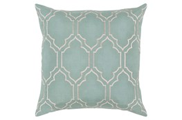 Accent Pillow-Norinne Geo Moss/Light Grey 18X18