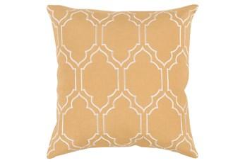 Accent Pillow-Norinne Geo Gold/Beige 20X20